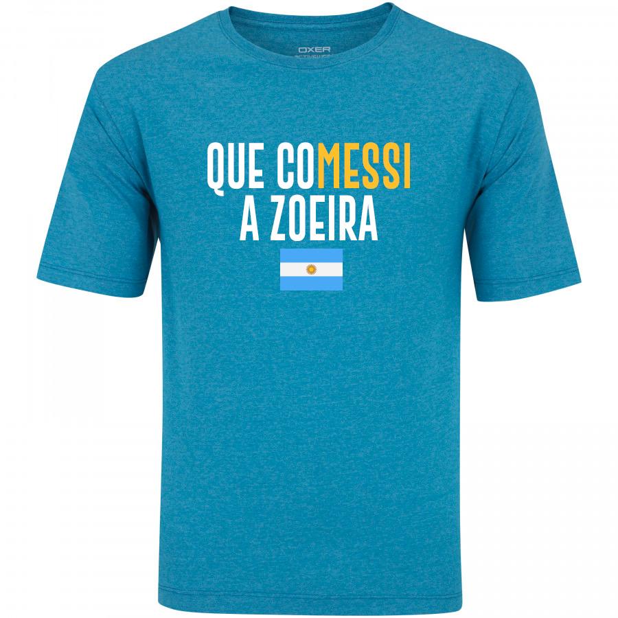 fc8e0546e5 Que coMessi a zoeira  Loja vende camisa alfinetando derrota da Argentina