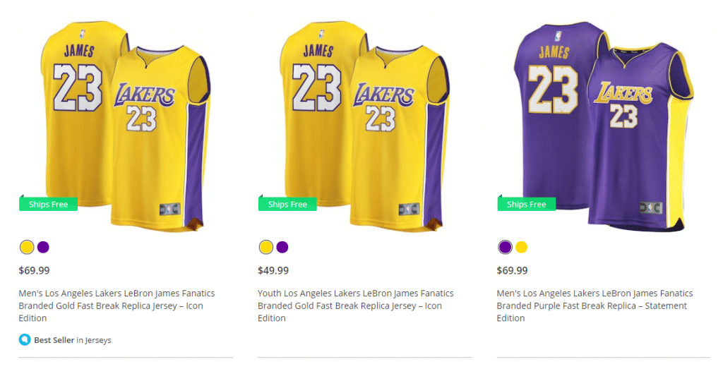 Los Angeles Lakers já vende camisas número 23 de LeBron James - UOL ... 39b22f76e91