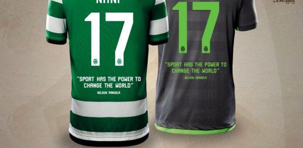 efe43053fa Sporting terá homenagem a Nelson Mandela em camisa de amistoso no sábado -  20 07 2027 - UOL Esporte