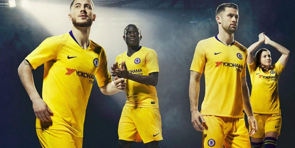 1a9ec86abf Chelsea apresenta novo terceiro uniforme com Hazard
