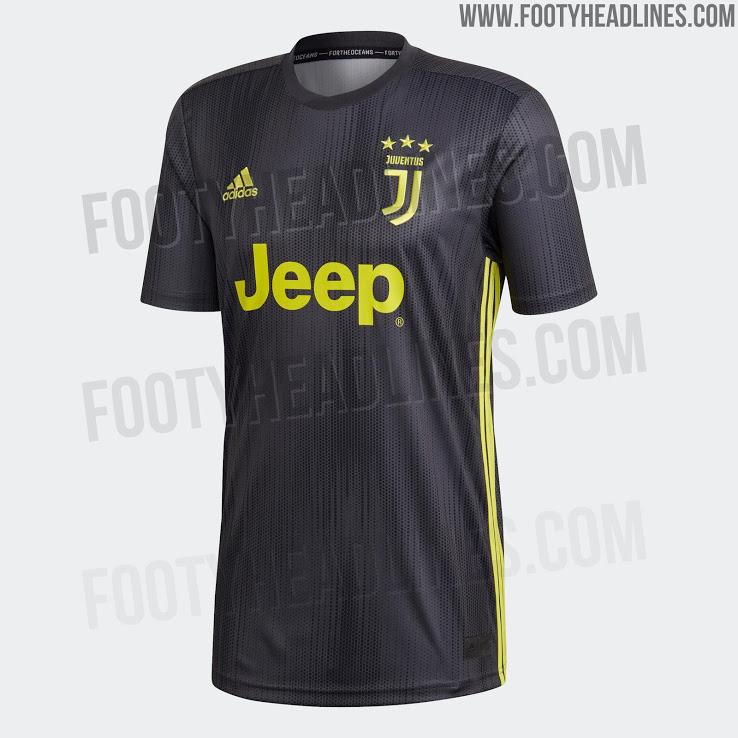 Site vaza suposto 3º uniforme da Juventus para a próxima temporada ... e7f2437d07653