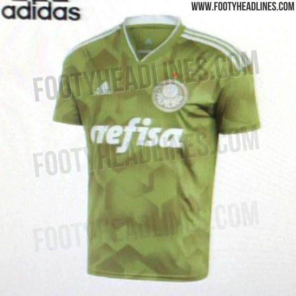 Fotos do suposto novo terceiro uniforme do Palmeiras vazam na internet 4663e4aac12a8
