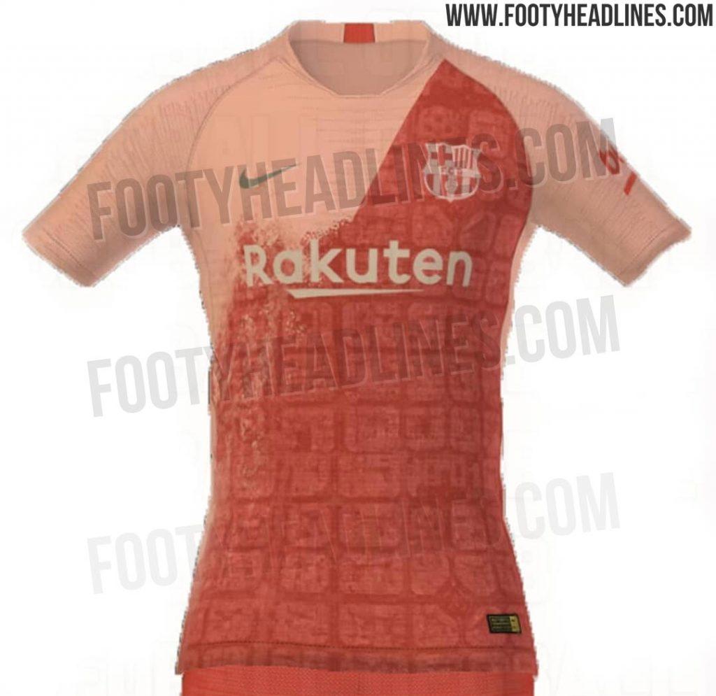 Site vaza possível terceira camisa do Barcelona para a temporada ... ee8703460784a