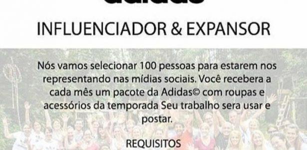 871dab312 Marcas esportivas recrutando influenciadores  É falso - UOL Esporte