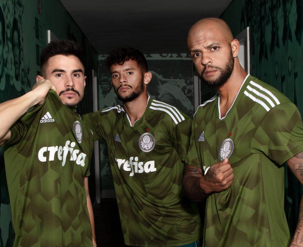 814f14fe59 Palmeiras lança terceiro uniforme