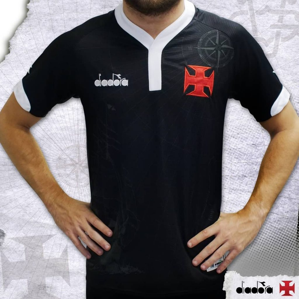bf97a9c591 Vasco lança terceiro uniforme com referência a histórico elenco campeão