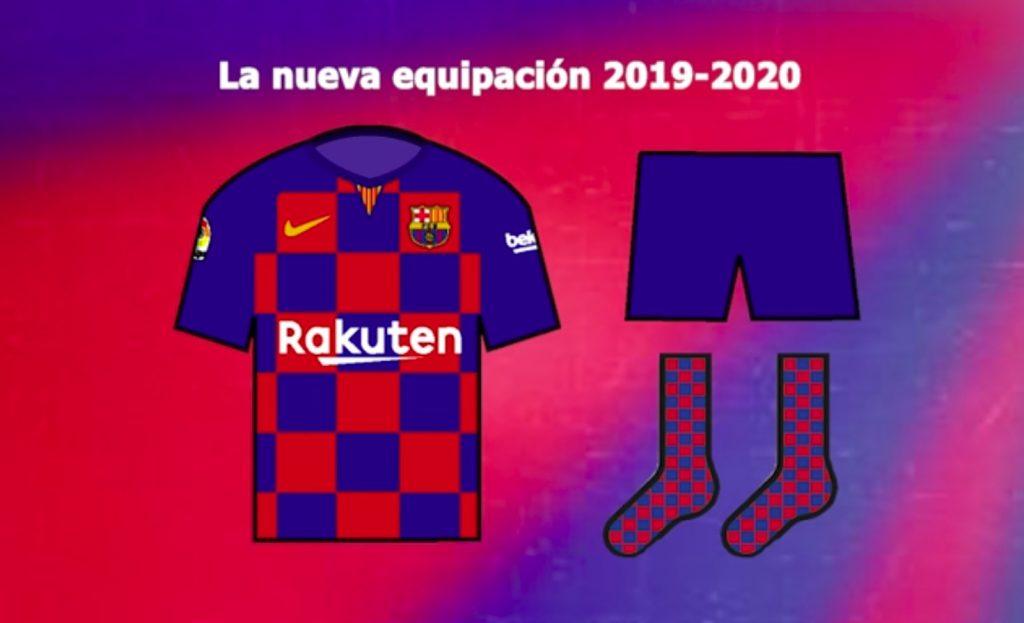 O Barcelona vai ousar de vez no uniforme para a temporada 2019 2020. Pelo  menos esta é a informação publicada neste sábado pelo jornal Sport. Além da  camisa ... 2fe4ebf0635ca