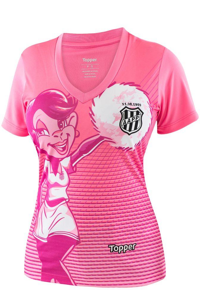c28193a490 Topper lança camisas de 11 clubes em homenagem ao Outubro Rosa  veja ...
