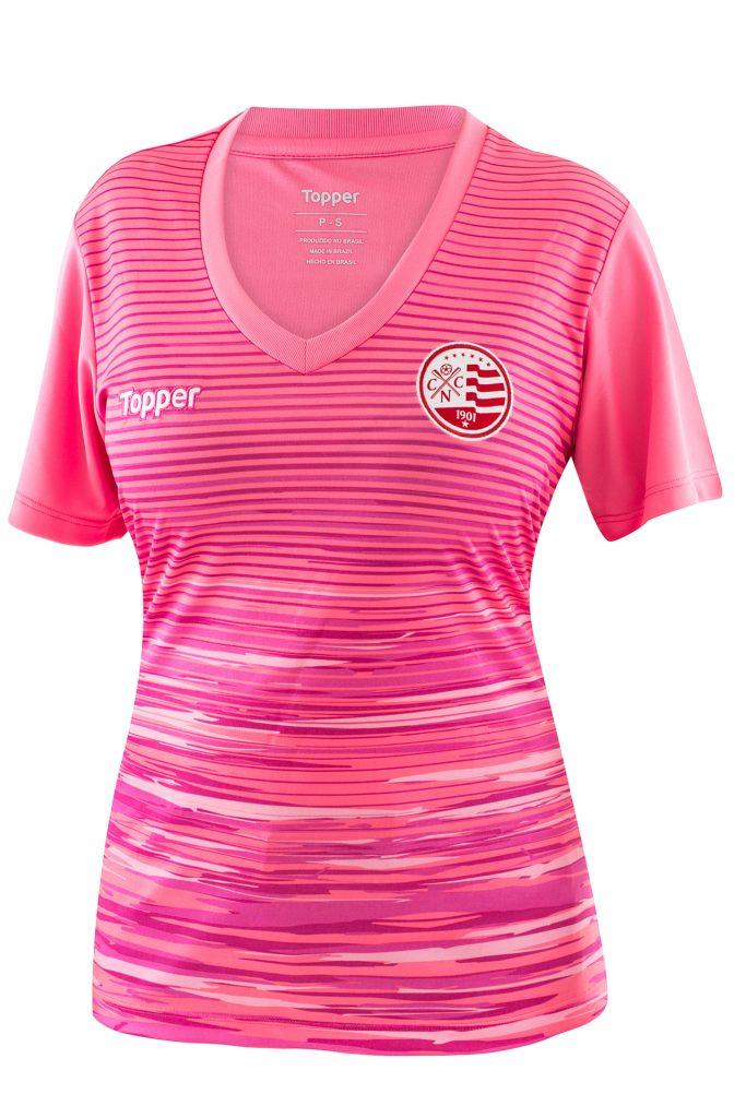 78127f05ae Topper lança camisas de 11 clubes em homenagem ao Outubro Rosa  veja ...