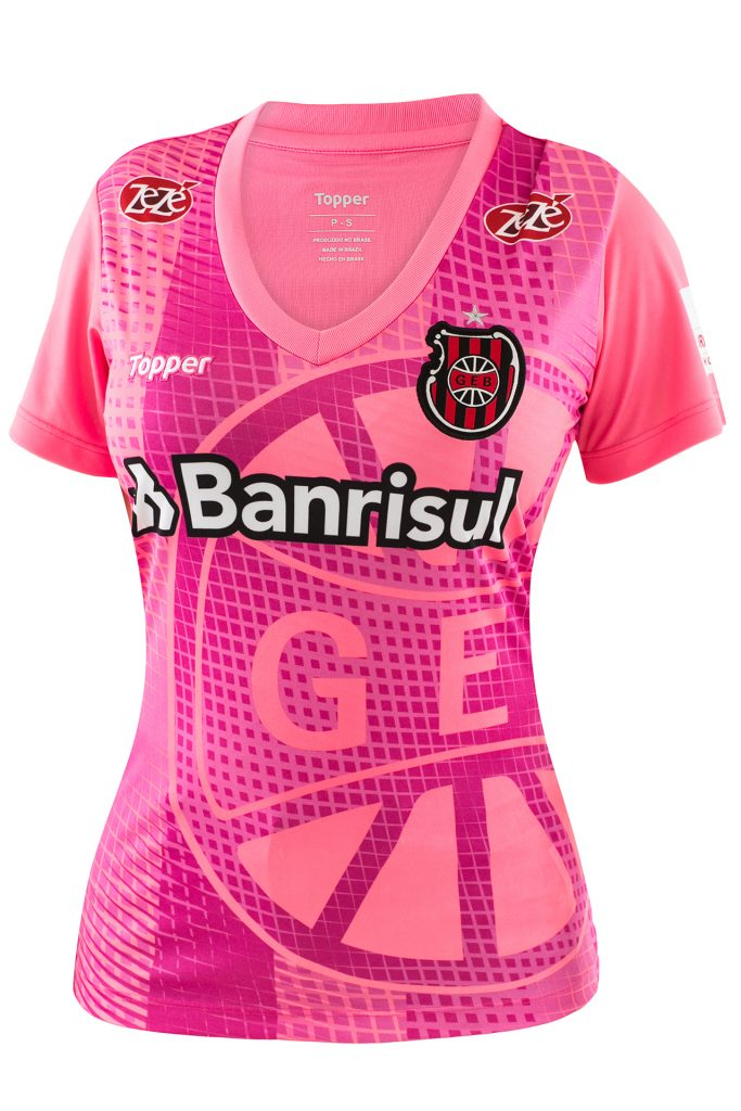 Topper lança camisas de 11 clubes em homenagem ao Outubro Rosa  veja ... 244c8f2fdeb00