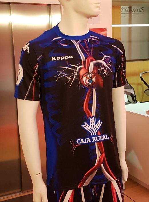 d60d4c4fb687c Time espanhol ousa e lança uniforme inspirado em coração - UOL Esporte