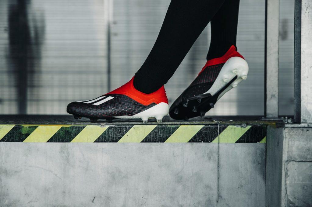 Para  bagunçar   Adidas apresenta a X18+ 34dbc21ad2ba7