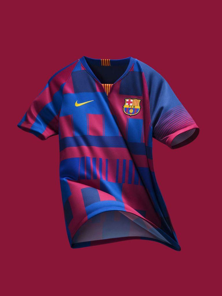 Nike e Barcelona lançam camisa comemorativa de 20 anos de parceria ... 54f53ebd9a5