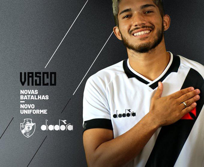 Vasco divulga imagem de nova camisa que estreará na quarta-feira ... beec61c14aae1