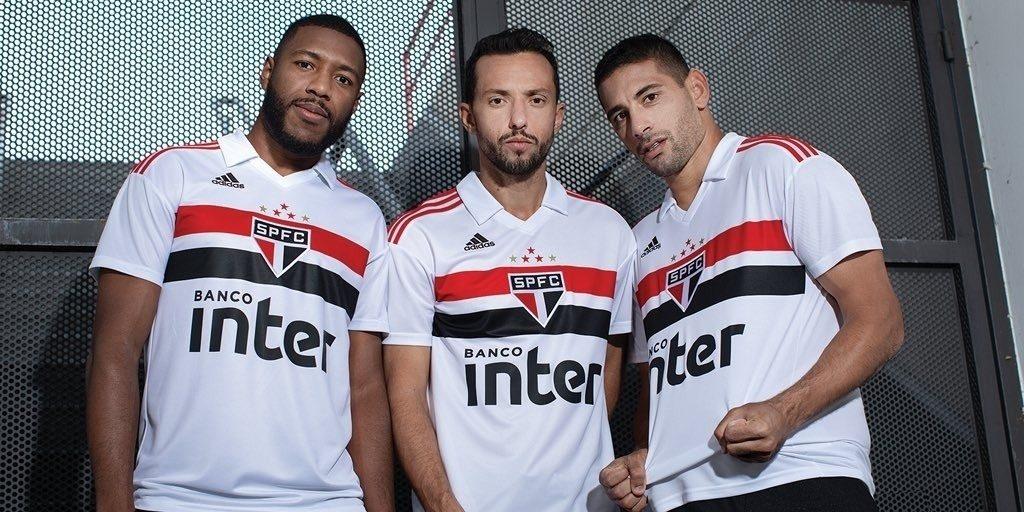 São Paulo retomará vermelho nas costas de nova camisa principal - 20 ... 9f4faaa2ea81d
