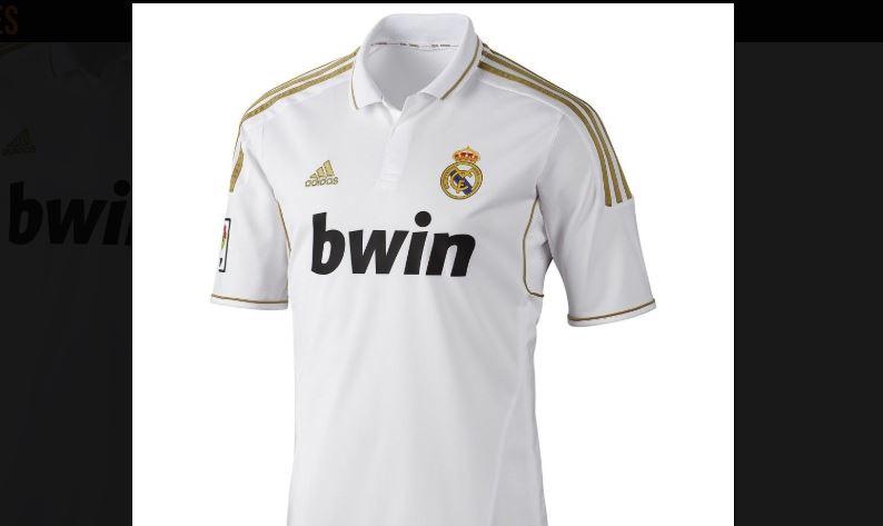 32abfd2da Site  Real deverá ter camisa branca com detalhes em dourado para 2019 20
