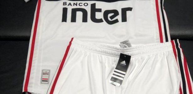 49e76f5473 São Paulo lança novo uniforme nesta quinta: