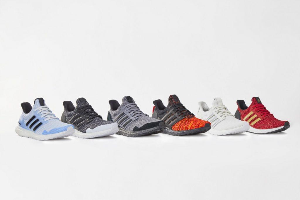 Adidas lança linha de tênis de corrida inspirada em Game of