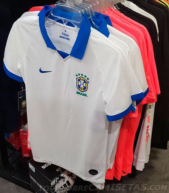68a223d4a9 Saiu a suposta camisa branca do Brasil para a Copa América? - UOL ...