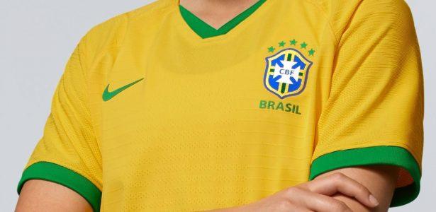 c5caf48534120 Por que as camisas da seleção feminina carregam as estrelas da masculina  -  UOL Esporte