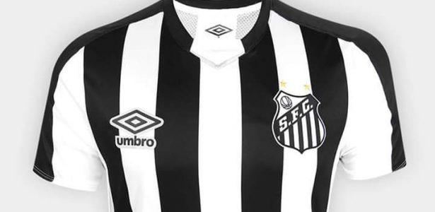 91cd359ba152e Santos apresenta nova camisa reserva e faz homenagem a títulos de 1964 -  UOL Esporte