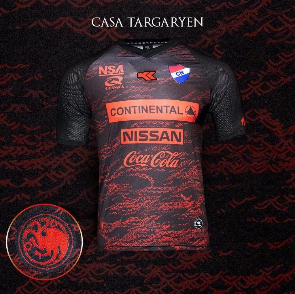 c41d526a8 Times do Paraguai ganham uniformes inspirados em Game of Thrones ...