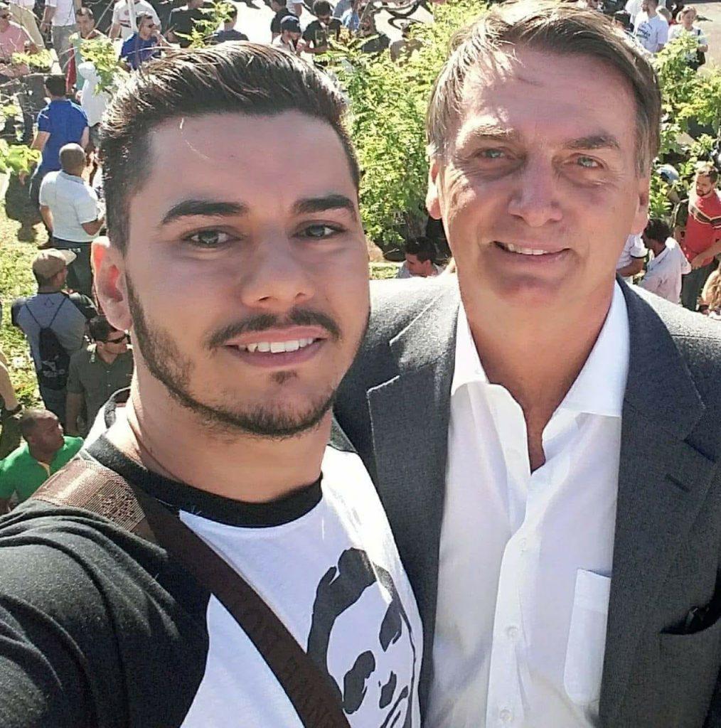 Carlos Athila e Bolsonaro