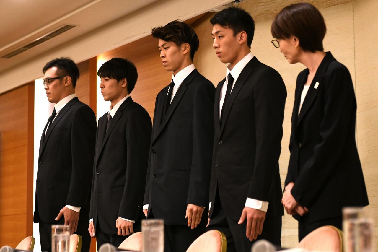 Deixar a concentração da seleção japonesa de basquete e se envolver com  prostitutas durante os Jogos Asiáticos foi uma ideia que custou caro a  quatro ... b1158e14ae3e9