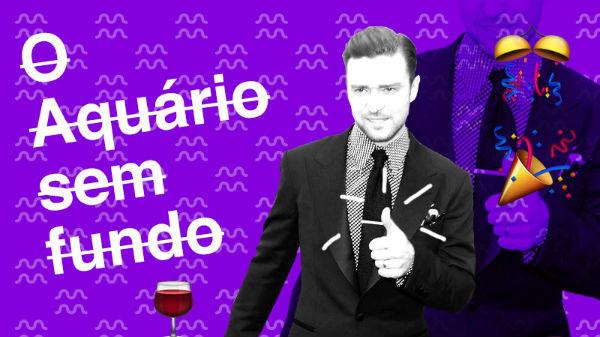 7136c47cb6c Justin Timberlake é aquariano  rebola