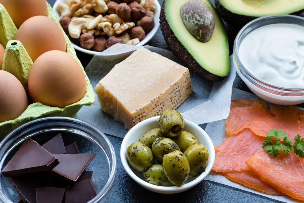 o que comer a tarde na dieta cetogenica