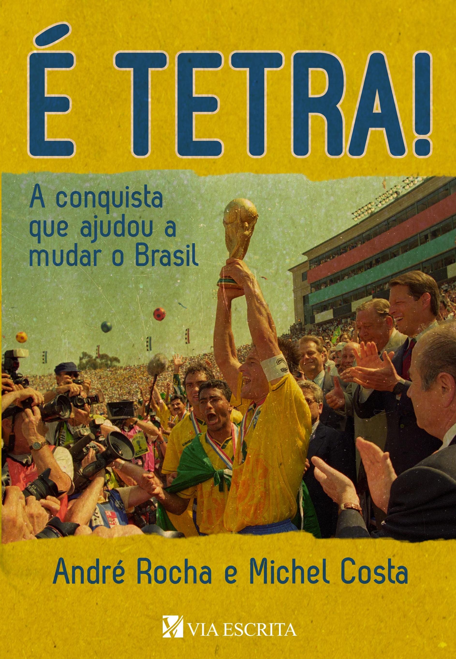 Livro faz relato minucioso sobre a seleção brasileira na Copa de ... 8585e43508c0e
