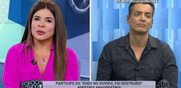 No Fofocalizando | Leo Dias erra, se corrige, mas ouve críticas de Mara