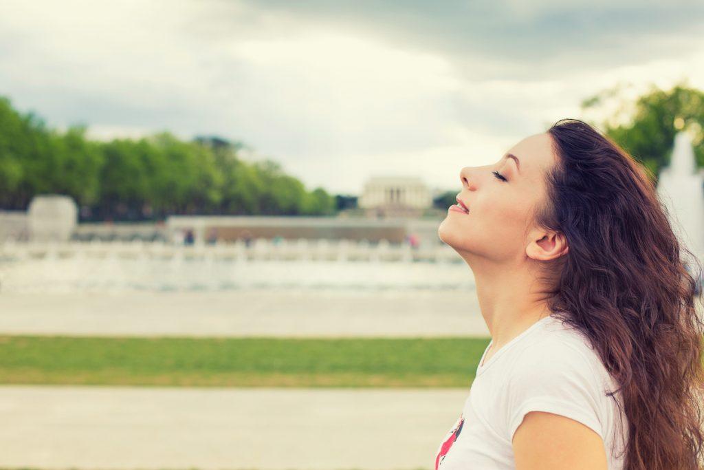 Técnica de respiração para aliviar o estresse