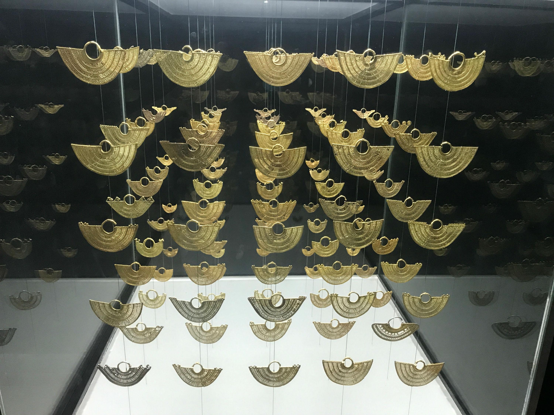 Museu do Ouro de Cartagena expõe peças indígenas dentro de cofre de ... a72f05789e7b3