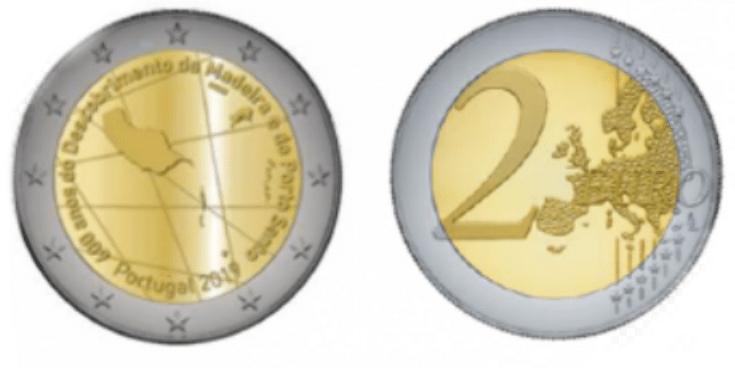 - moeda 2 euros madeira - Moeda de ¤ 2 comemora 500 anos de volta ao mundo de Fernão de Magalhães