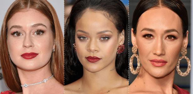 bbde1ff5d0 Confira 10 ideias de maquiagem para usar com vestido vermelho - Tudo Beleza  - UOL