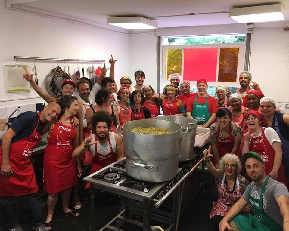 Cozinha Ocupação 9 de Julho