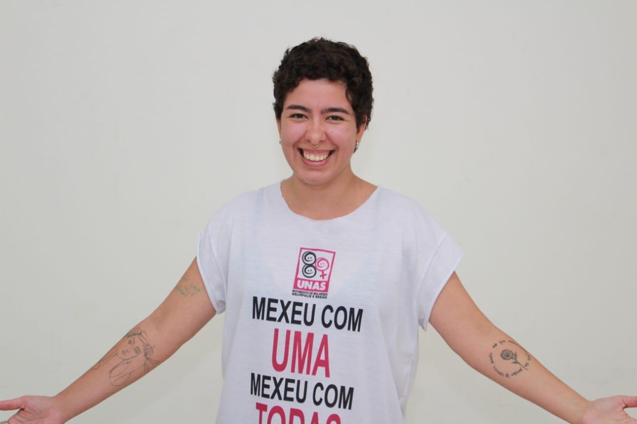 Indira Gabriela, candidata ao conselho tutelar de Heliópolis: