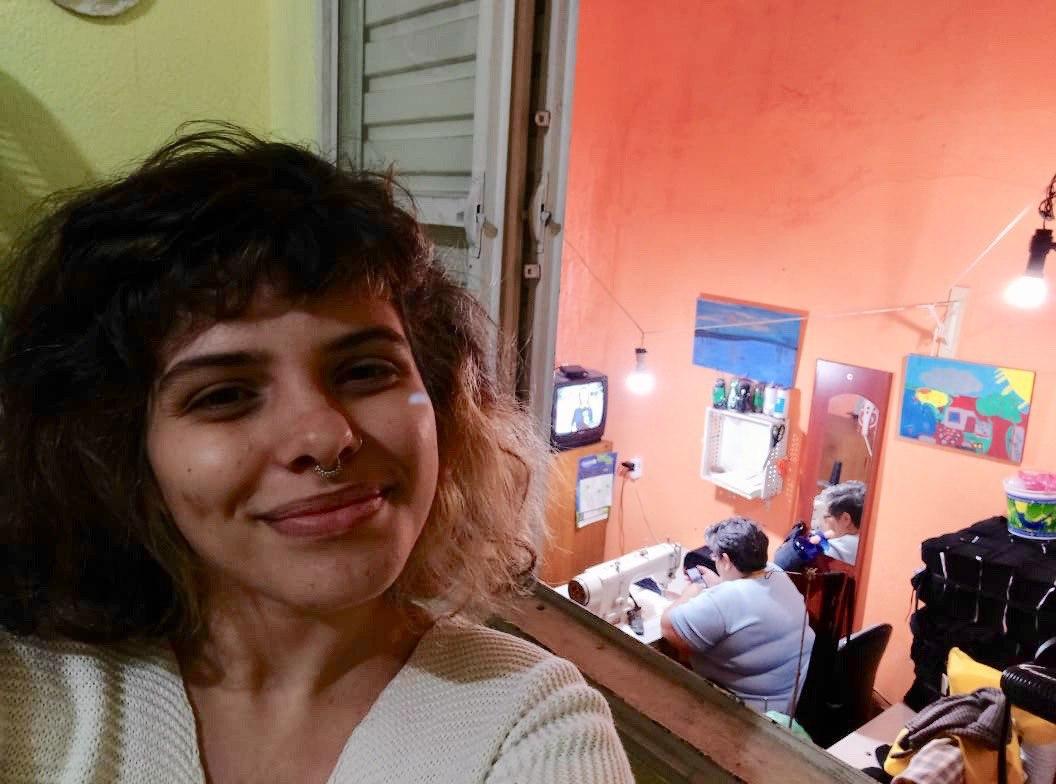 A produtora audiovisual Rachel Daniel, de 24 anos, é evangélica da Igreja Batista em São Paulo