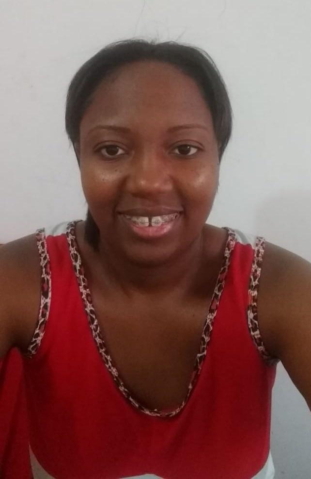 Ingrid Sara dos Santos participou da série de vídeos com Verônica, contando sobre sua trajetória e experiências trabalhando em casas de família (Foto: acervo pessoal)