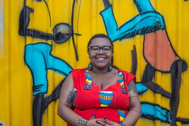 A antropóloga Marta, : (Foto: acervo pessoal)