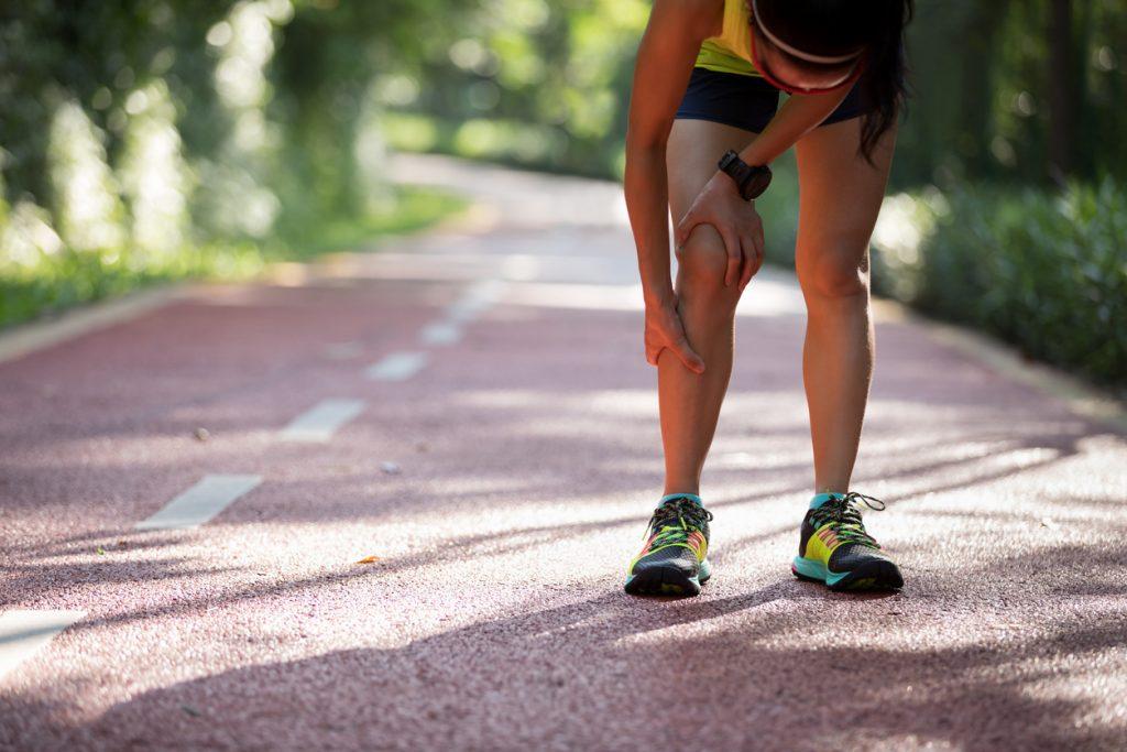 Musculares da tratamento panturrilha cãibras para