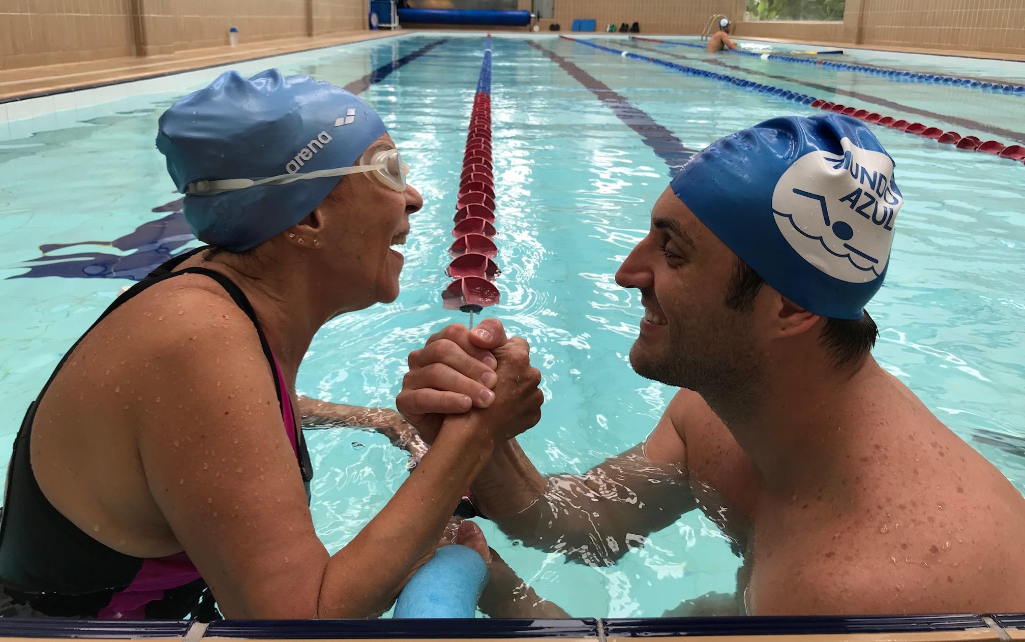aprender a nadar depois dos 30