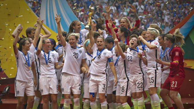 Resultado de imagem para seleção americana de futebol feminino 2015