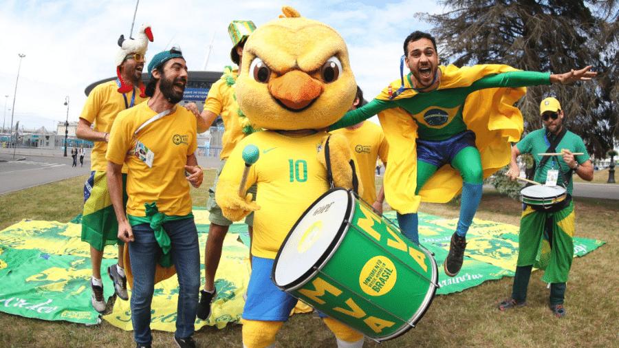 A transformação da torcida brasileira na Copa da Rússia - 20 07 2004 ... 16fa978324b67