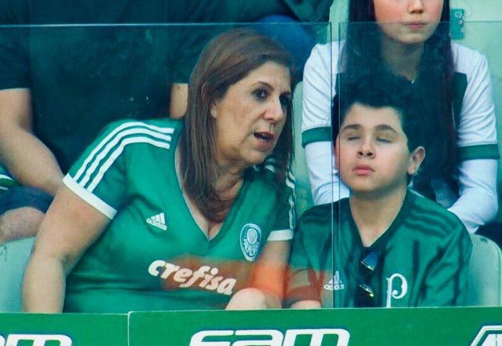 93c9cd7090d58 A lição da mãe palmeirense sobre futebol  não precisa ver