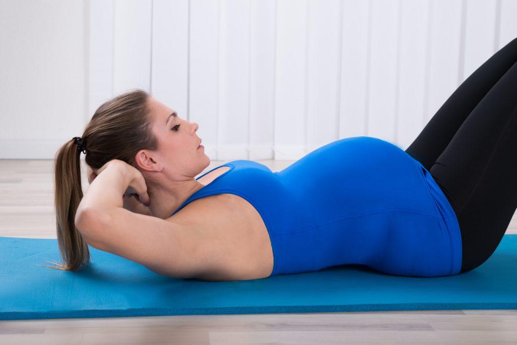 Exercício na gravidez