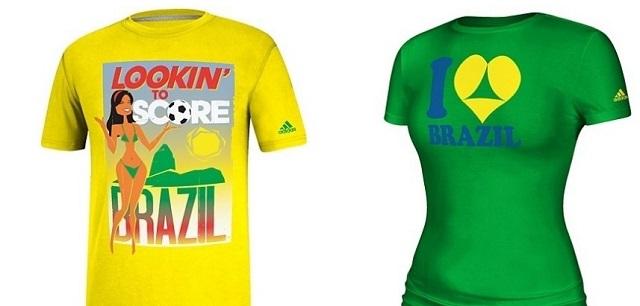 As polêmicas camisas feitas pela Adidas para a Copa. Nos EUA! c0d35f152ccb7