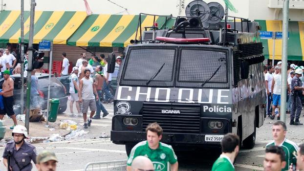 No Allianz Parque, torcida em estado de choque... (FOTO: ESPN.COM.BR)