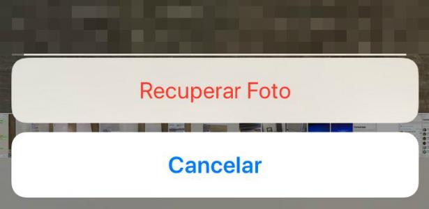 ... qualquer iOS acima da versão 8 e recupera apenas itens apagados nos  últimos 30 dias. Após esse período, é necessário buscar em aplicativos de  terceiros. 7bd1d2dd49